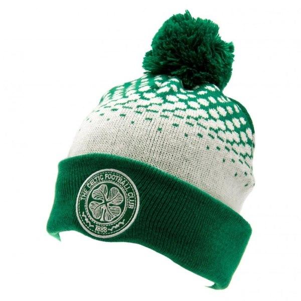 Celtic FC Unisex vuxna FD Ski Hat One Size Grön / Vit