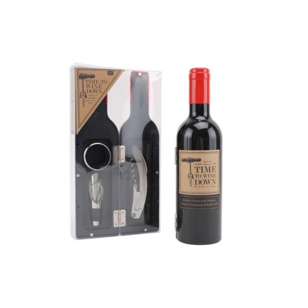 CGB Giftware Lofttid för att koppla av 3-delad vinuppsättning On