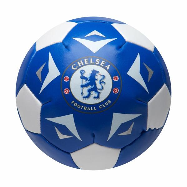 Chelsea FC Soft Mini Football One Size Blå / Vit