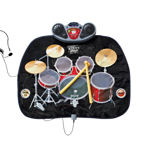 Christmas Shop Drum Kit Playmat One Size Svart