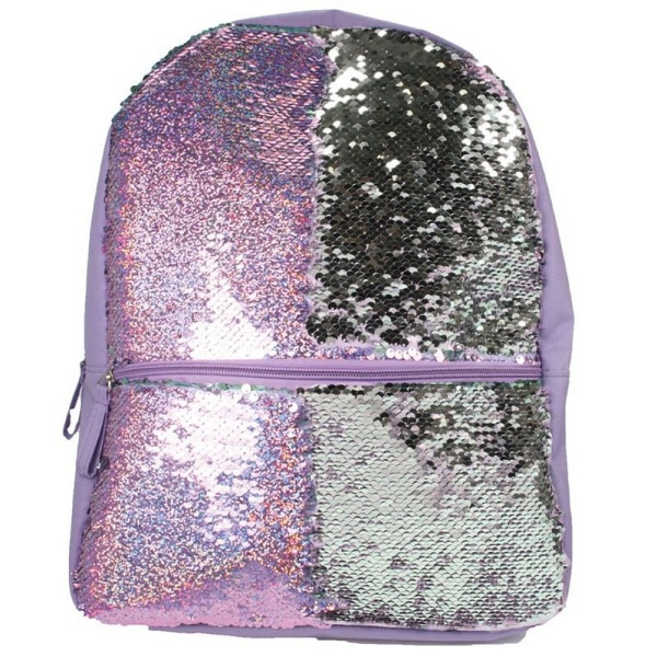 Christmas Shop Girls Reversible Sequin Backpack One Size Silver