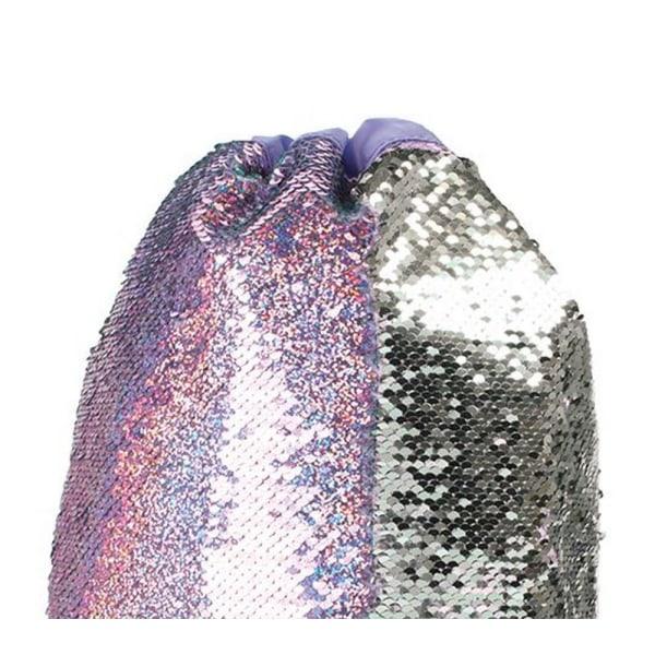 Christmas Shop Girls Reversible Sequin Trainer Pump Bag One Size