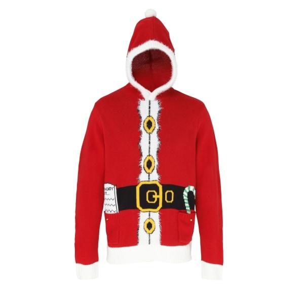 Christmas Shop Vuxna Unisex Hooded Santa Design-tröja / tröja M