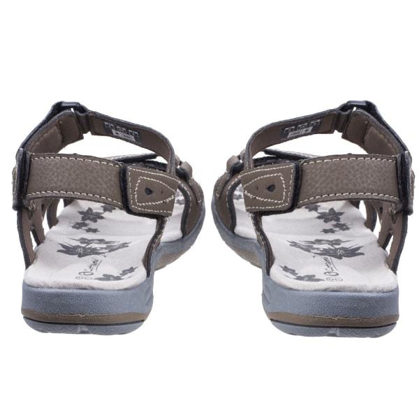 Cotswold Dam / Highworth sandaler för damer 3 UK Brun