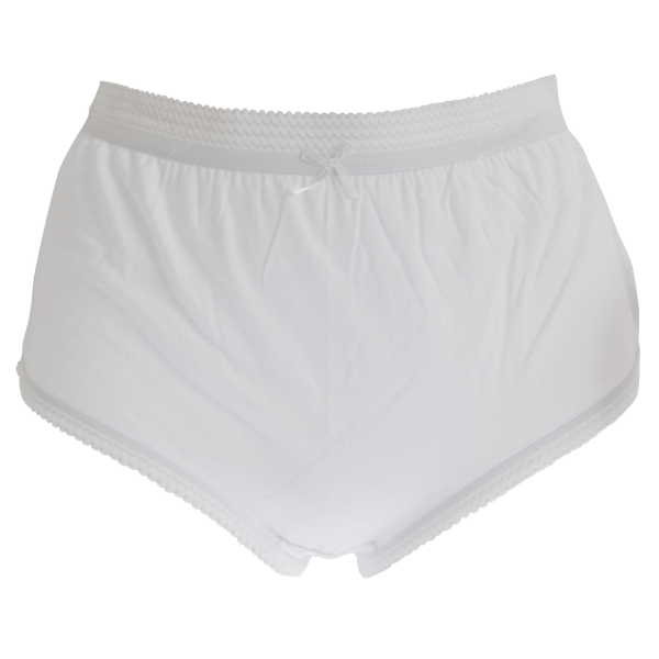 Cottonique Kvinnor / damöverdelar i full bomull (paket med 3) 40