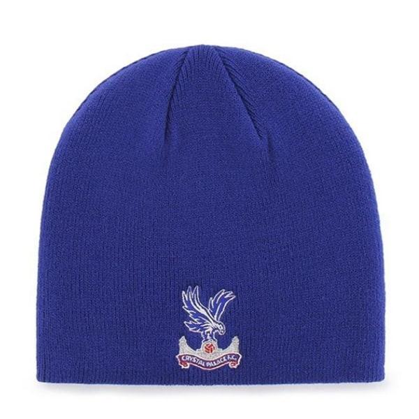 Crystal Palace Beanie Stickad hatt One Size Kungsblått