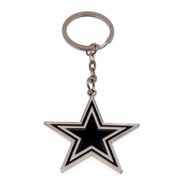 Dallas Cowboys Nyckelring One Size Svart