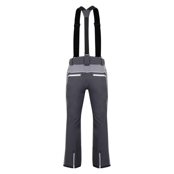 Dare 2b Intrinsiska skidbyxor för män L Ebony / aluminiumgrå