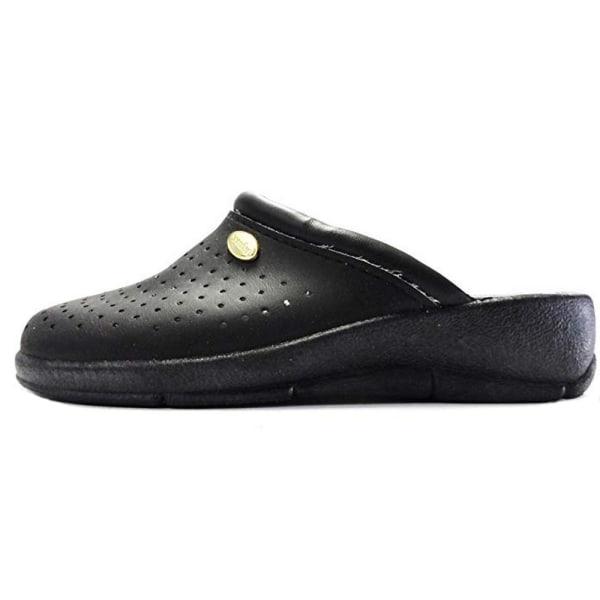 Dek Kvinnor / damer belagda läderkläder 37 EUR Svart