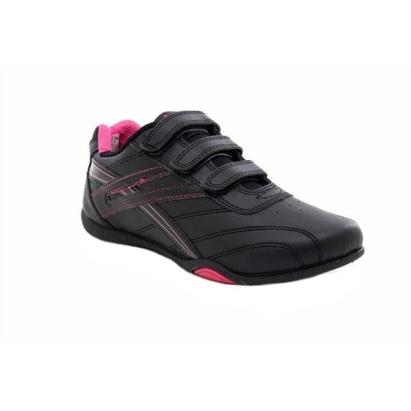 Dek Kvinnor / Ladies Raven 3 Touch Fastening Trainers 7 UK Svart Black/Fuchsia 7 UK