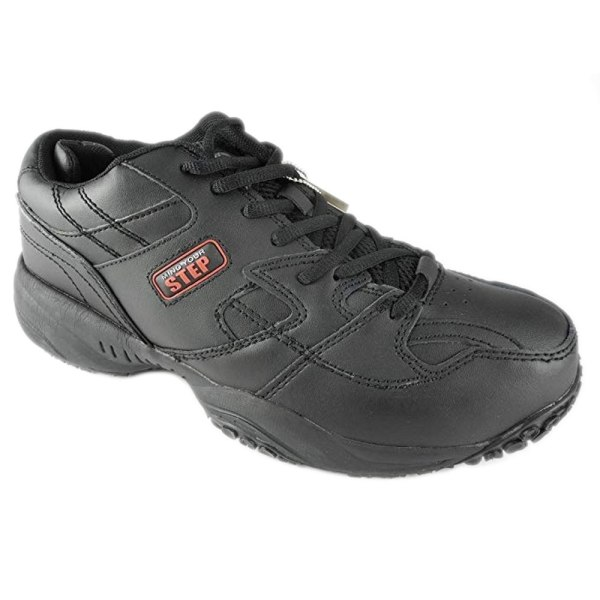 Dek Mind Your Step Mens Cruiser Comfort Lace Leather Trainers 8