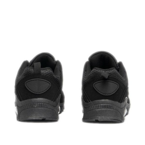 Dek Unisex luftturbin snörning joggtränare 4 UK Svart Black 4 UK
