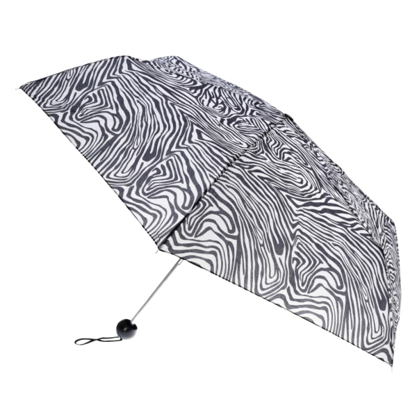 Drizzles Djurtryck Kompakt paraply för damer / damer One Size Ze