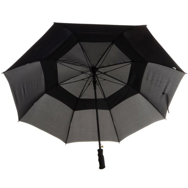 Drizzles Herr Auto Double Canopy Golf Paraply One Size Svart