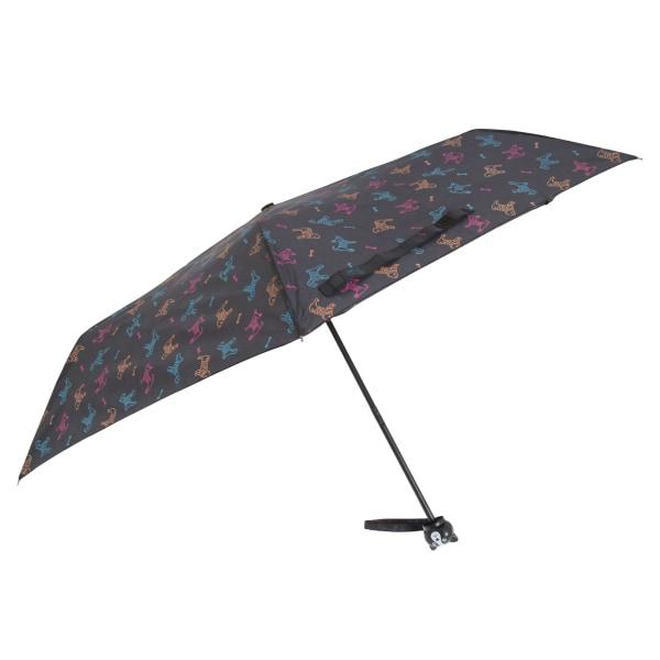 Drizzles Paraply för hundtryck One Size Svart