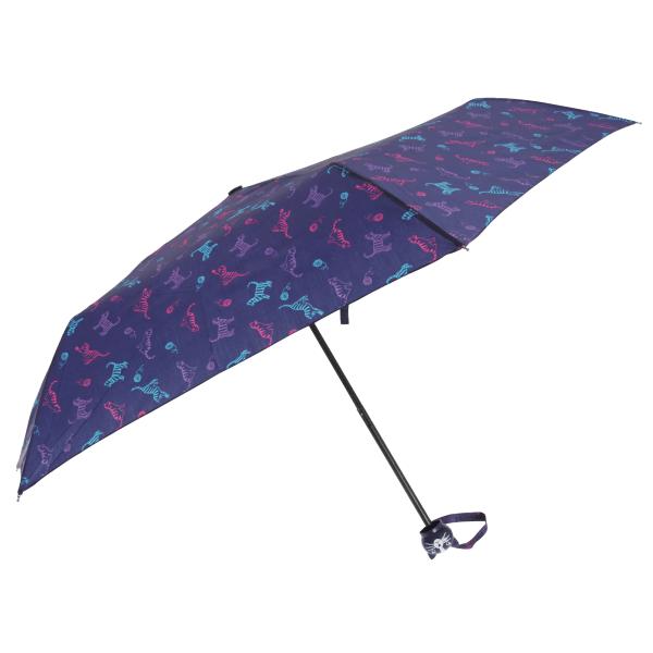 Drizzles Paraply för katttryck One Size Marin