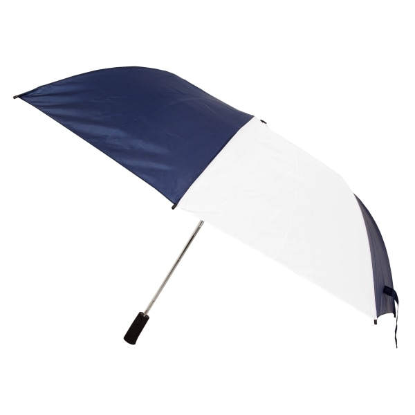 Drizzles Vuxna Unisex Foldaway Golfparaply One Size Navy / White