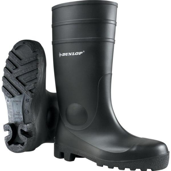 Dunlop FS1600 142PP Unisex säkerhets Wellington-stövlar 46 EUR S