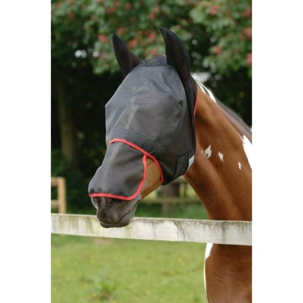 Equilibrium Fältavlastning Max Horse and Donkey Fly Mask With ör