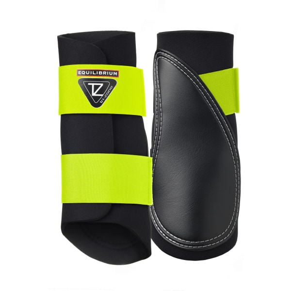Equilibrium Tri-Zone Fluoro Brushing Boots X-Small fluor