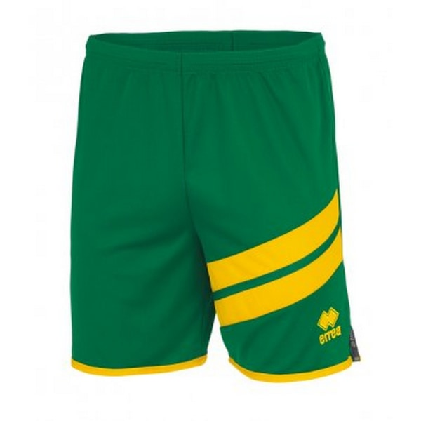 Errea Unisex Jaro-shorts L Grön gul