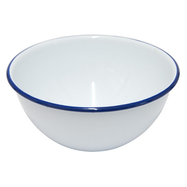 Falcon Pudding Bowl 16 x 7.5cm Vit / mörkblå