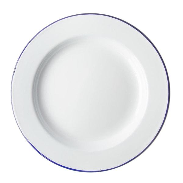 Falcon Traditionell middagstallerta 20cm Vit blå