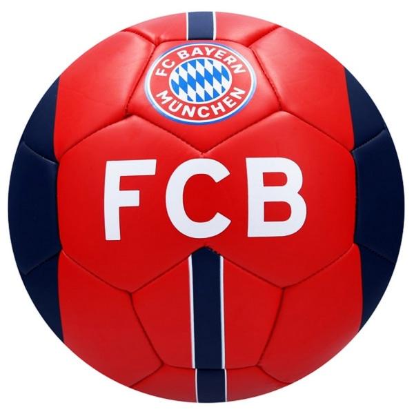 FC Bayern Munich Fotboll Size 5 Röd blå