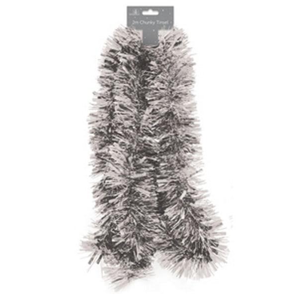 Festive Wonderland Chunky glitter 2m Silver