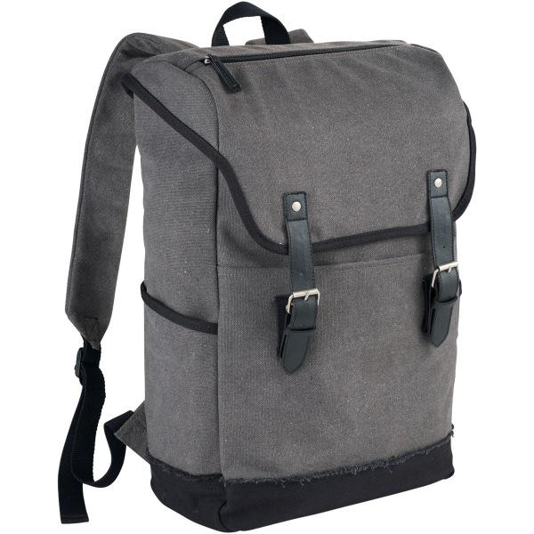 Field & Co. Hudson 15.6in bärbar ryggsäck 29.8 x 12.7 x 45cm Grå
