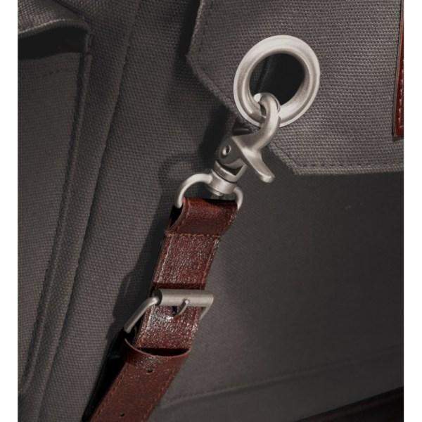 Field & Co. Klassisk ryggsäck 34 x 13.5 x 41.5cm Grå