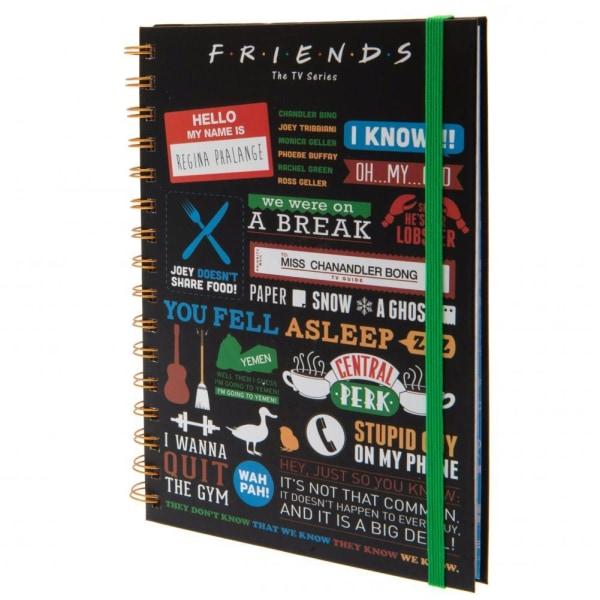 Friends Anteckningsbok One Size Flerfärgade