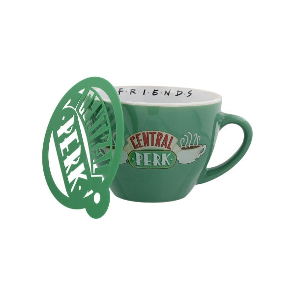 Friends Central Perk Cappuccino rånar One Size Grön