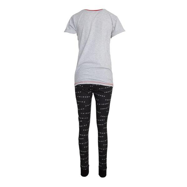 Friends Kvinnor / damer Id istället titta på vänner Cotton Pyjam