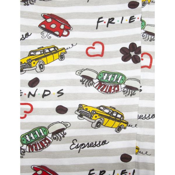 Friends Kvinnor / damer men kaffe första pyjamas set av bomull 8