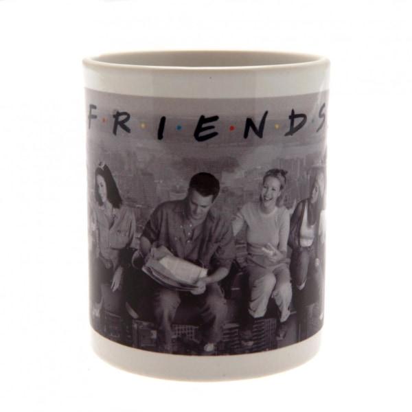 Friends Officiell keramisk mugg i New York One Size Svartvit