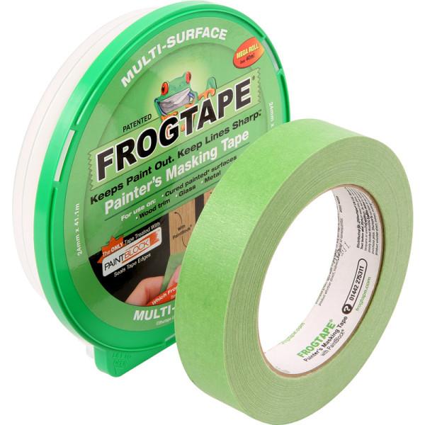 Frog Tape Måttband för flera ytor One Size Grön