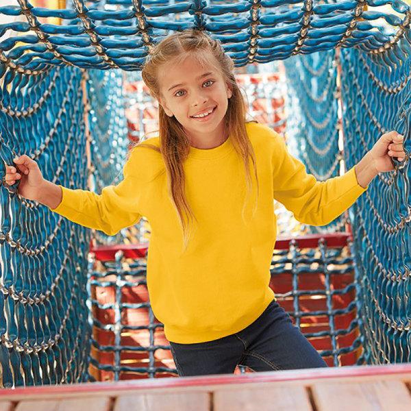 Fruit Of The Loom Kids Unisex Classic 80//20 Set-In Sweatshirt