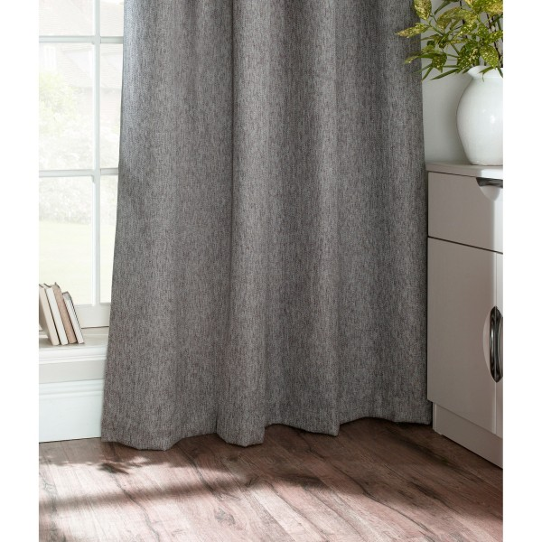 Furn Harrison Pencil Pleat Faux Wool Gardiner (par) 117x183cm Gr