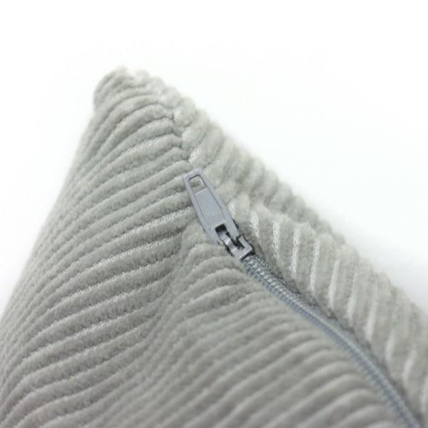 Furn Jagger Geometric Design Curdory Cushion Cover One Size Grå