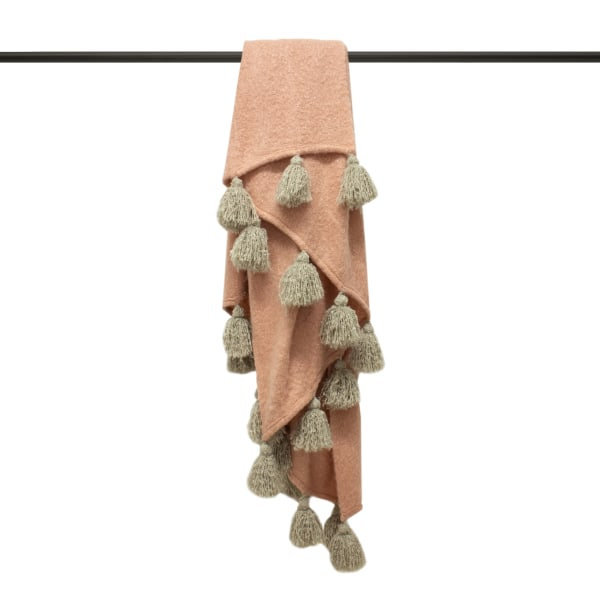 Furn Romily Kast filt One Size Blush Pink / Natural