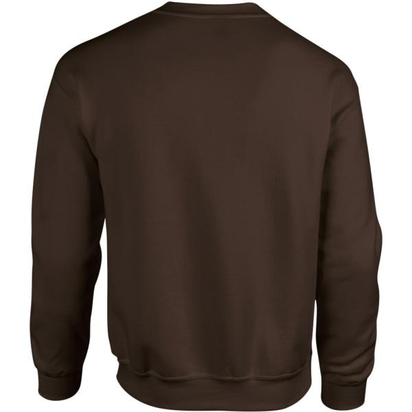 Gildan Tung blandning Unisex tröja för vuxen Crewneck M Dark Hea