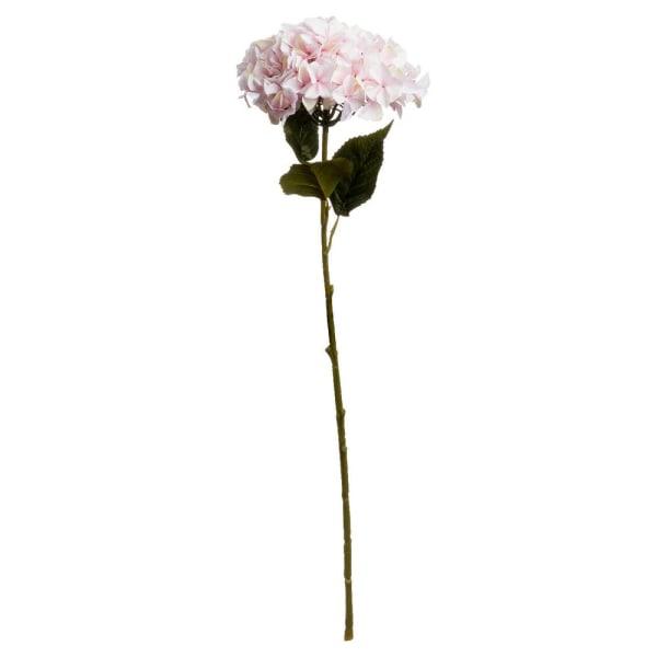 Hill Interiors Konstgjord enstaka hortensia One Size Rosa