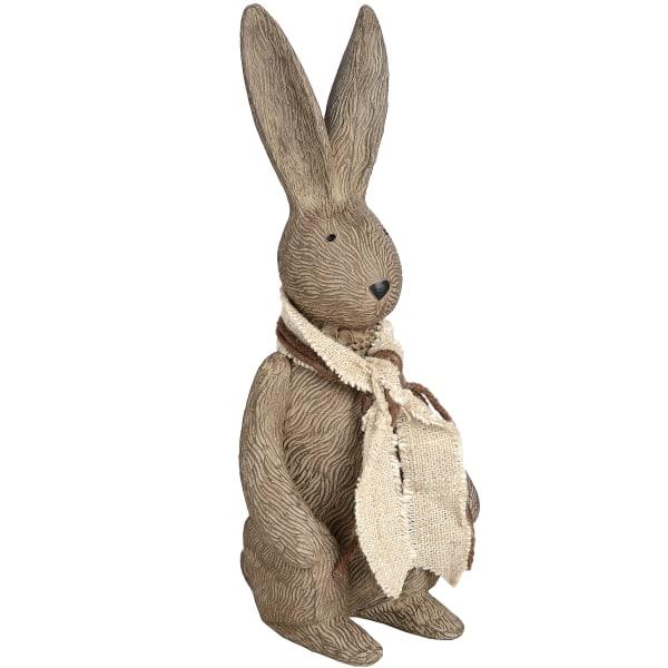 Hill Interiors Winter Bunny Rabbit Ornament Small Grå / tvättad