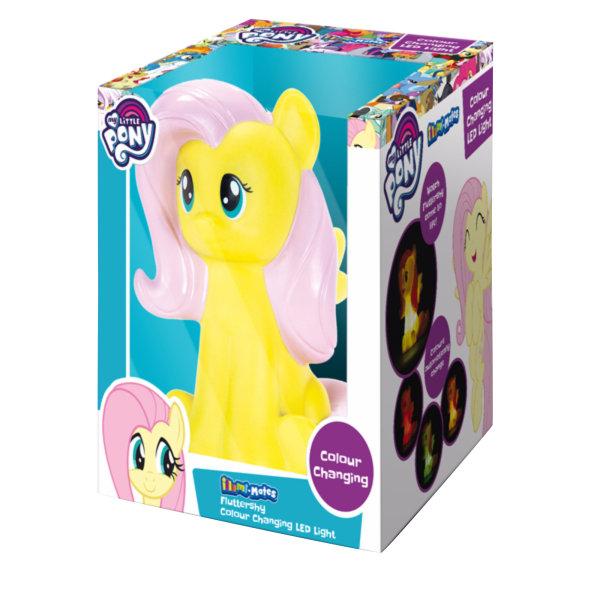 Illumi-Mates My Little Pony Official Fluttershy Nattlampa One Si