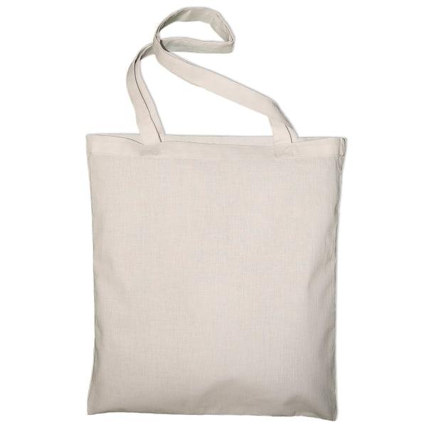 Jassz Väskor Classic Long Handle Canvas Tote Shopper Bag One Siz
