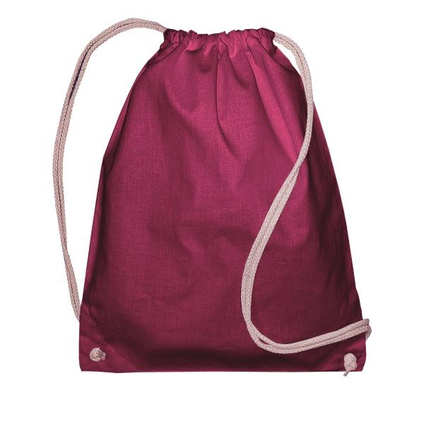 Jassz Väskor Lång ryggsäck (paket med 2) One Size Rödvin