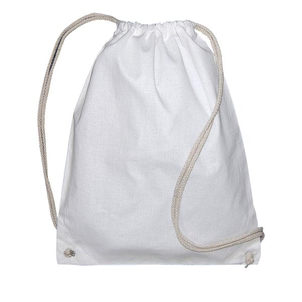 Jassz Väskor Lång ryggsäck (paket med 2) One Size Vit