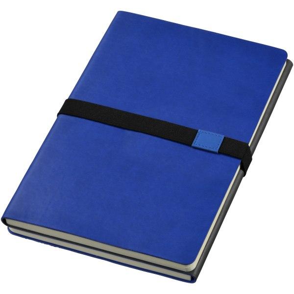JournalBooks Doppio anteckningsbok 21.3 x 14.5 x 2 cm Marinblå /