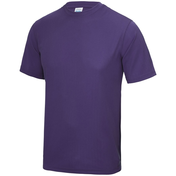 AWDis Just Cool Mens Performance Plain T-Shirt 3XL Sapphire Blue
